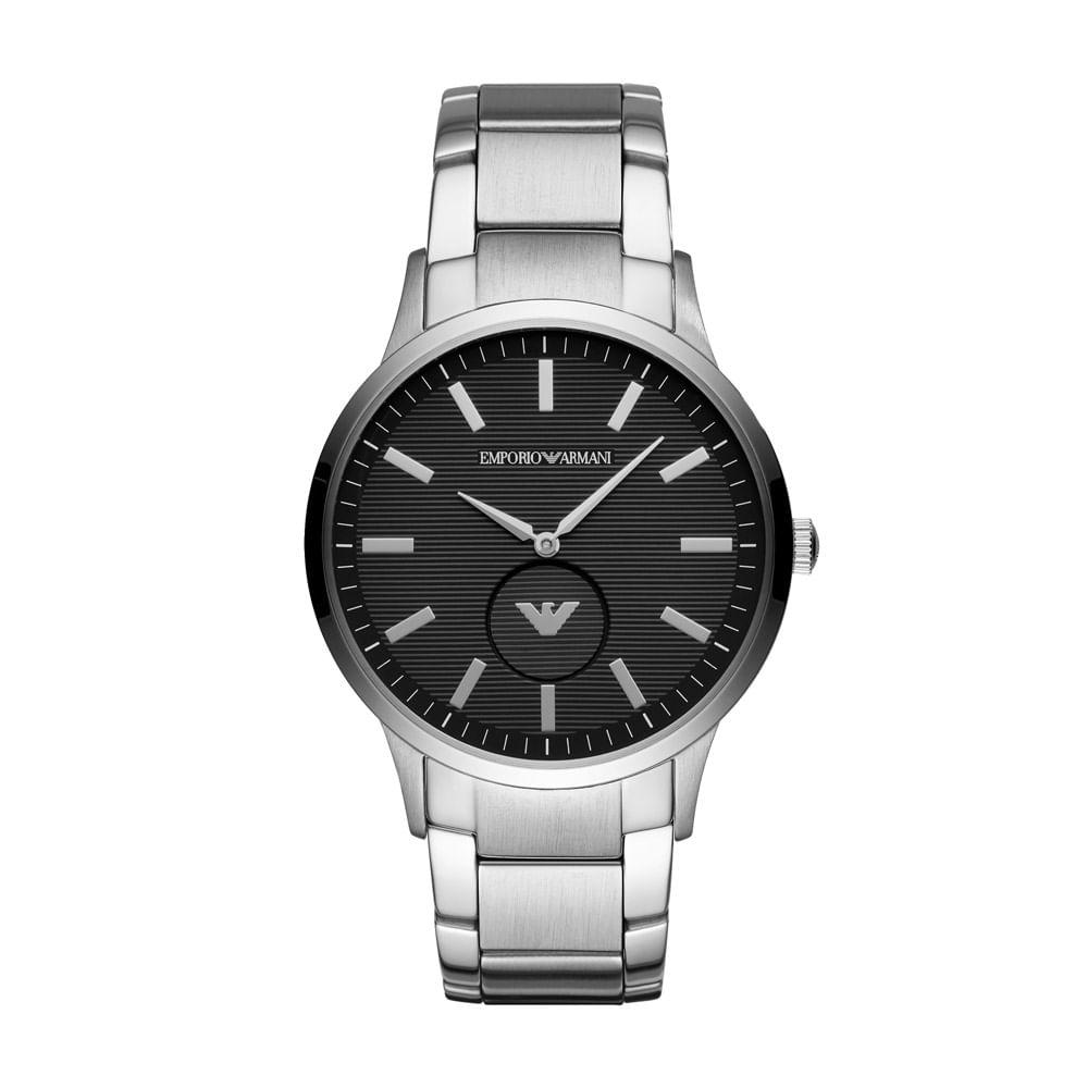d271c635872 Relógio Empório Armani Masculino Classic Renato Prata - AR11118 1KN ...