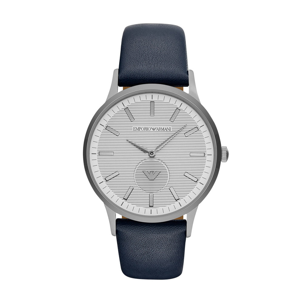 Relógio Empório Armani Masculino Classic Renato Azul - AR11119 0AN ... a1d9a3e3c0