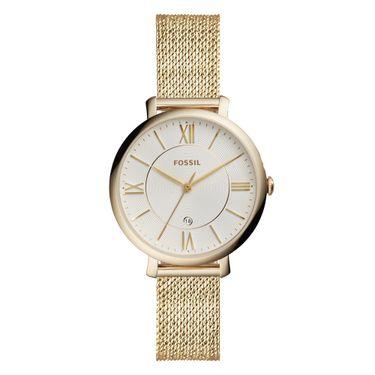 c22f5b4cca9 Relógio Fossil Feminino Ladies Jacqueline Dourado - ES4353 1TN