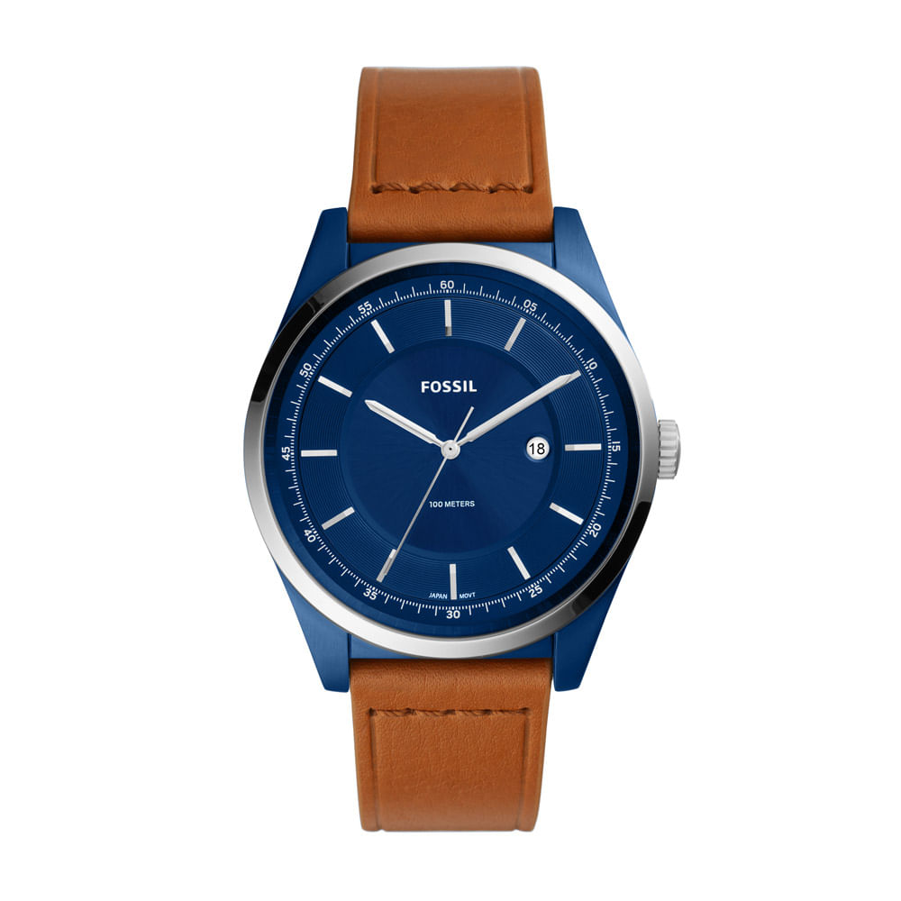 6ad5d3c0d14 Relógio Fossil Masculino Casual Mathis Marrom - FS5422 0MN - timecenter