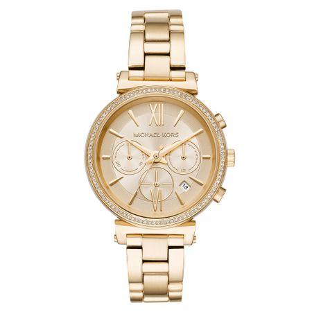 Relógio Michael Kors Feminino Essential Sofie Dourado - MK6559/1DN