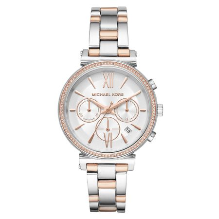 Relógio Michael Kors Feminino Essential Sofie Bicolor - MK6558/1KN
