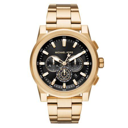 Relógio Michael Kors Unissex Essential Grayson Dourado - MK8599/1DN