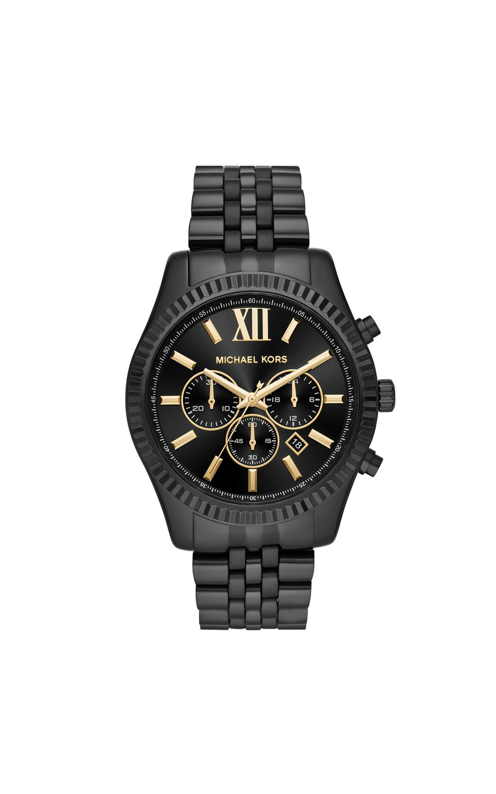 21348a1efef Relógio Michael Kors Feminino Essential Lexington Preto - MK8603 1PN.  undefined