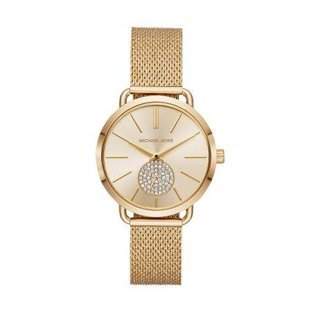 Relógio Michael Kors Feminino Essential Portia Dourado - MK3844/1DN