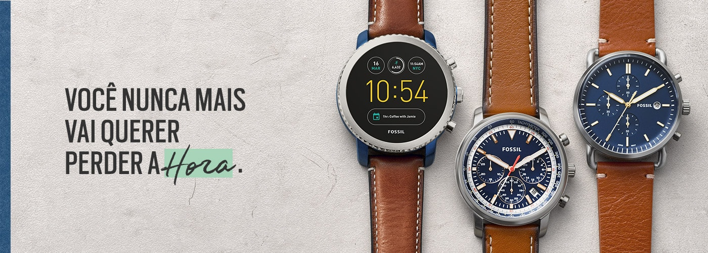 dcf38bb41fc Relogios Fossil Store - Relógios – fossil