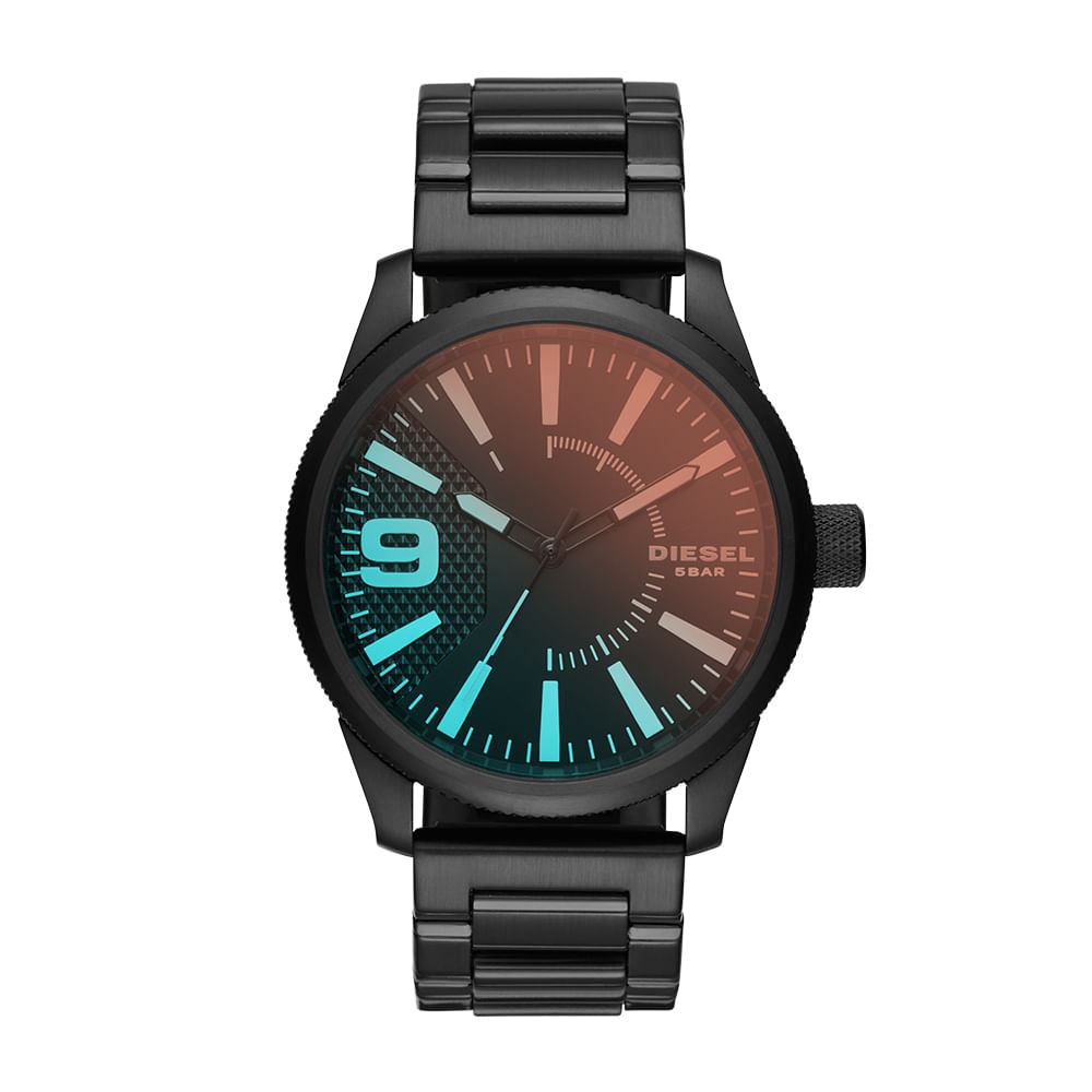 f953a08eaf4 Relógio Diesel Masculino Basic Rasp Preto - DZ1844 1PN - timecenter