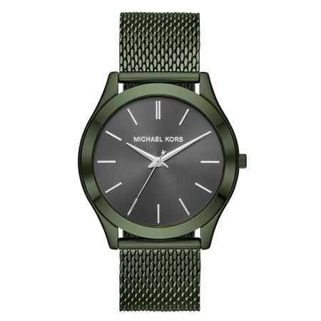 Relógio Michael Kors Feminino Essential Slim Runway Verde Militar - MK8608/1VN