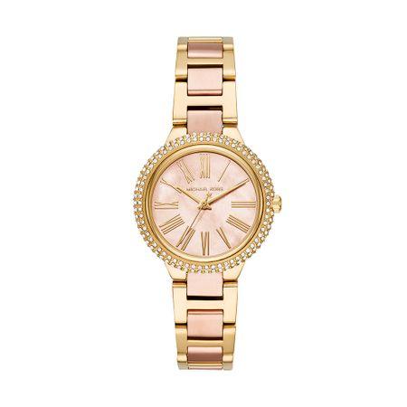 Relógio Michael Kors Feminino Essential Mini_Taryn Bicolor - MK6564/1DN