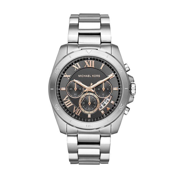 074735d647aed Relógio Michael Kors Unissex Essential Brecken Prata - MK8609 1KN