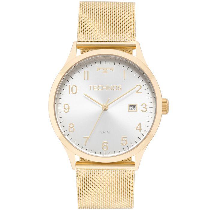 e2228d1b3d62a Relógio Technos Feminino Elegance Dress Dourado - 2115MNK 4K - technos