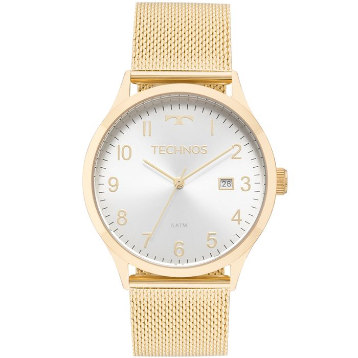 26cbcb518bc21 Relógio Technos Feminino Elegance Dress Dourado - 2115MNK 4K - technos