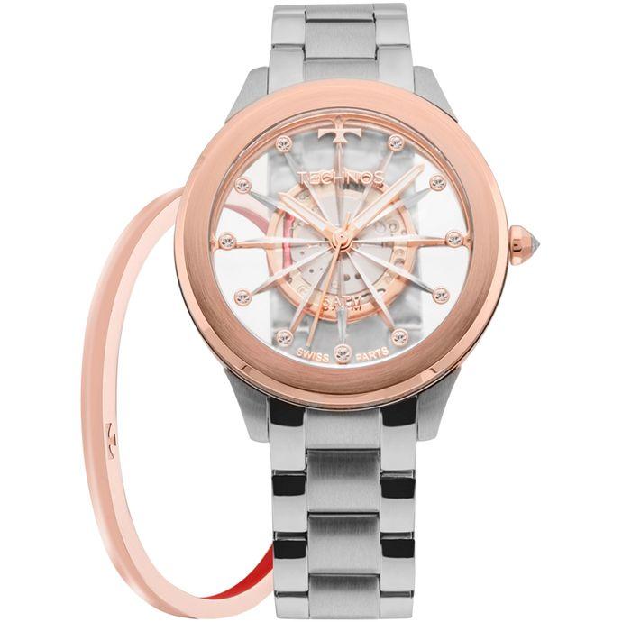 Relógio Technos Feminino Essence Prata - F03101AB K1W d579ae12c1