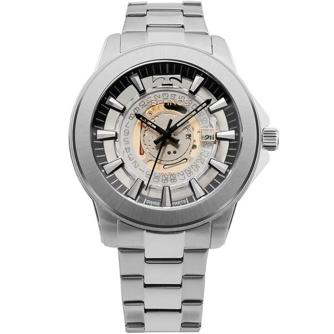 861c756d9c3bd Relógio Technos Masculino Automatic 8N24AJ 4X - Dourado