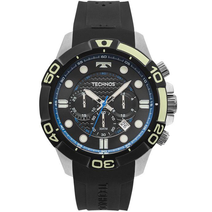 Relógio Technos Masculino Performance Acqua Prata - JS25BQ 8P. R  859 ... cbdb00042e