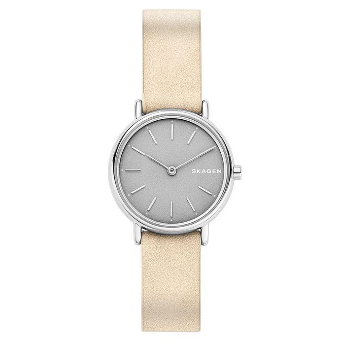 Relógio Skagen Feminino Ladies Signatur Bege - SKW2696 0TN c8abd4e3cf
