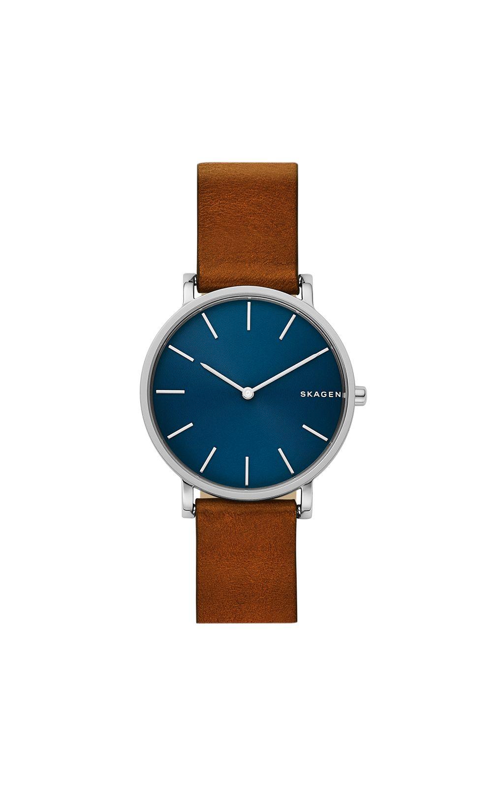 59a72d489cac4 Relógio Skagen Masculino Gents Hagen Marrom - SKW6446 0MN. undefined