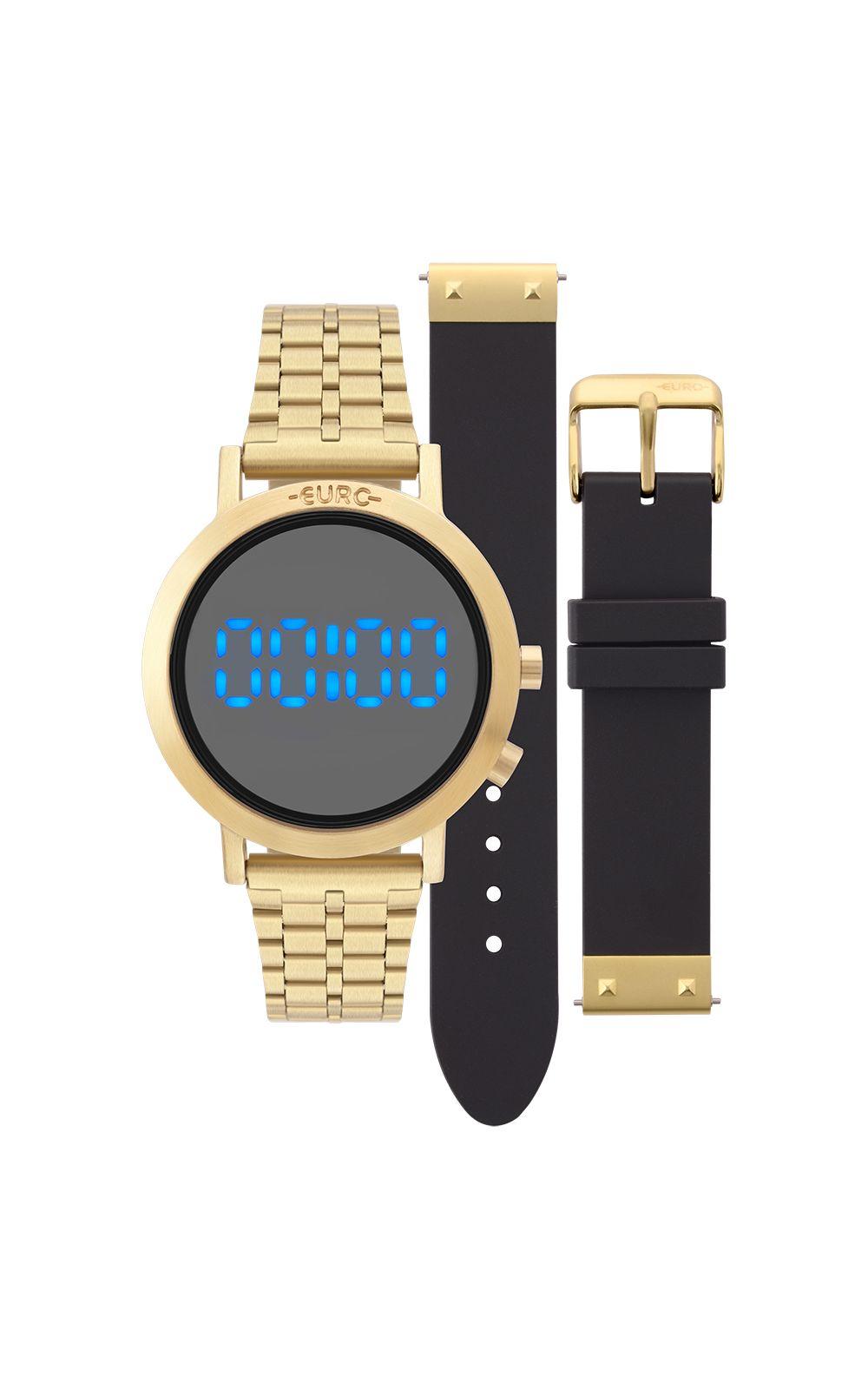 efbbef2016e Relógio Euro Feminino Fashion Fit Dourado - EUBJ3407AA T4P