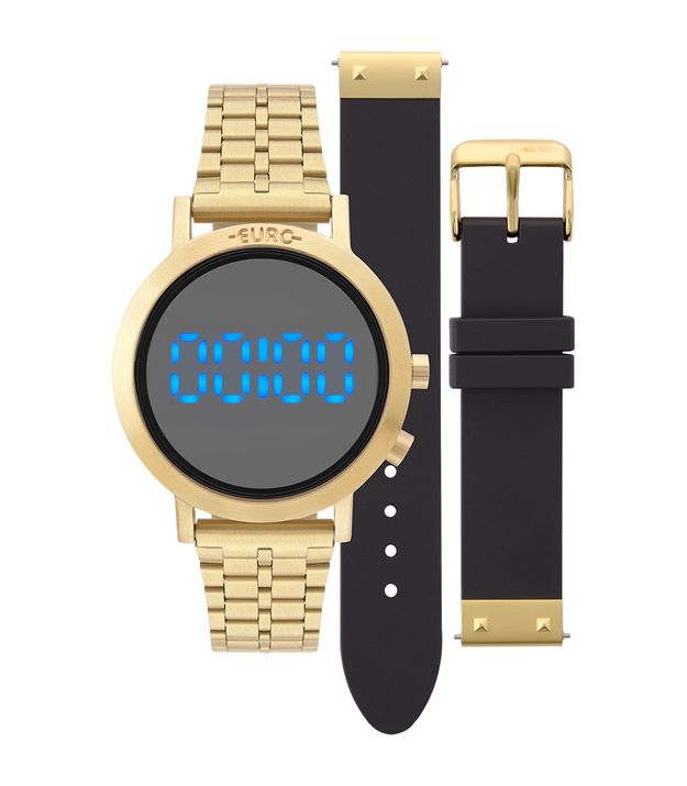 55c2bdcd083 Relógio Euro Feminino Fashion Fit Dourado - EUBJ3407AA T4P