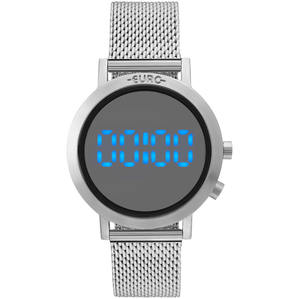 3d8ad41c573 Relógio Euro Feminino Fashion Fit Prata - EUBJ3407AB 3P - timecenter