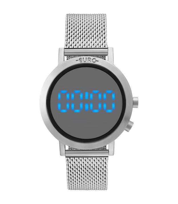 Relógio Euro Feminino Fashion Fit Prata - EUBJ3407AB 3P 9819bb6105
