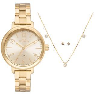 cdf2d61c02b Relógio Technos Feminino Trend Dourado - 2035MMT/K4D