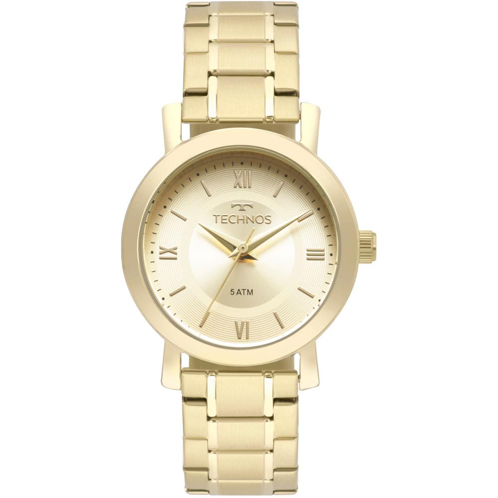 dc6219e1e97e3 2035MMS4X. 2035MMS4X. Technos. Relógio Technos Feminino Boutique Dourado ...