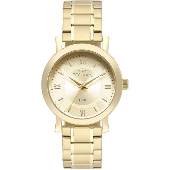 6ed24cb9643e0 Relógio Technos Feminino Boutique Dourado - 2035MMS 4X - technos