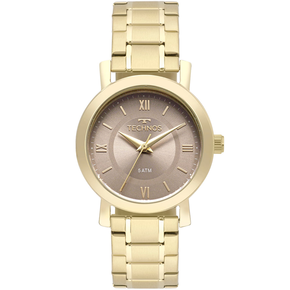 d37720e691c Relógio Technos Feminino Boutique Dourado - 2035MMS 4C - timecenter