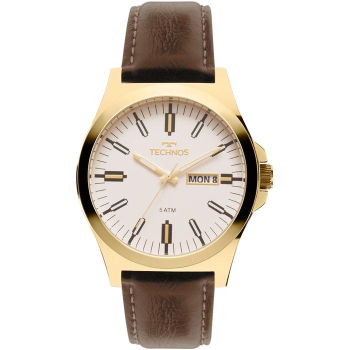 0f9a798e67e Relógio Technos Masculino Steel Dourado - 2305AZ 2B - technos