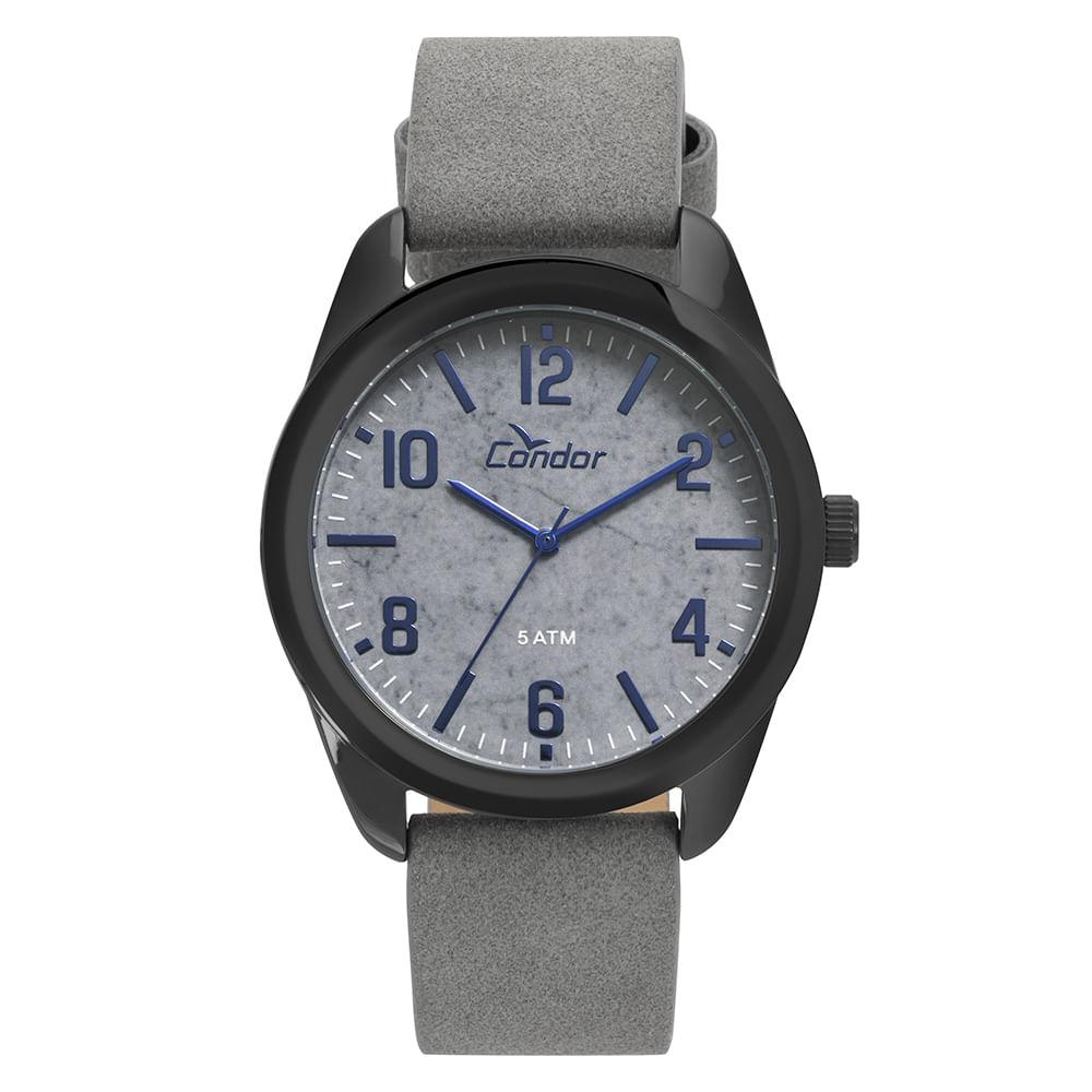ffd61149a8e Relógio Condor Masculino Casual Grafite - CO2036KTW 2C - timecenter