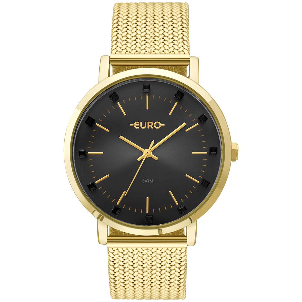 063e70567f2 Relógio Euro Feminino Spike Illusion Dourado - EU2035YMX 4P - timecenter