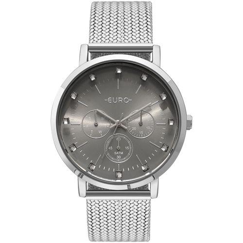 9dc0192e285 Relógio Euro Feminino Spike Illusion Prata - EUVD75AB 3K