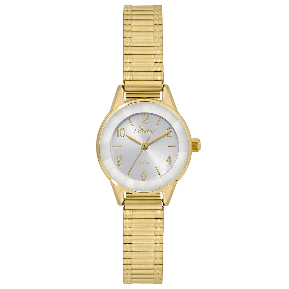 bc418010f8789 Relógio Condor Feminino Mini Dourado - CO2035KWJ 4B. 0% Off. Código   CO2035KWJ 4B