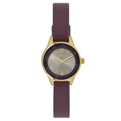 5c6f742c88360 Relógio Condor Feminino Mini Dourado - CO2035KWK 2C - timecenter