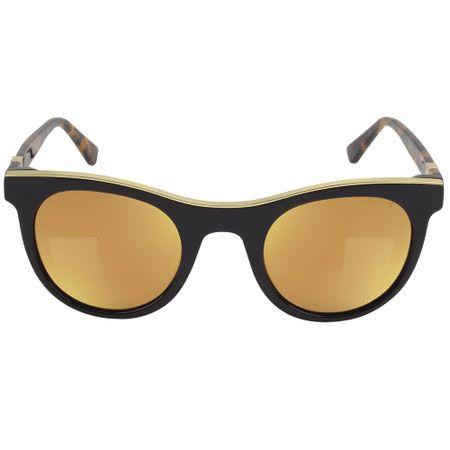 Óculos Euro Feminino Gold Lux Preto - E0004F3547/8S