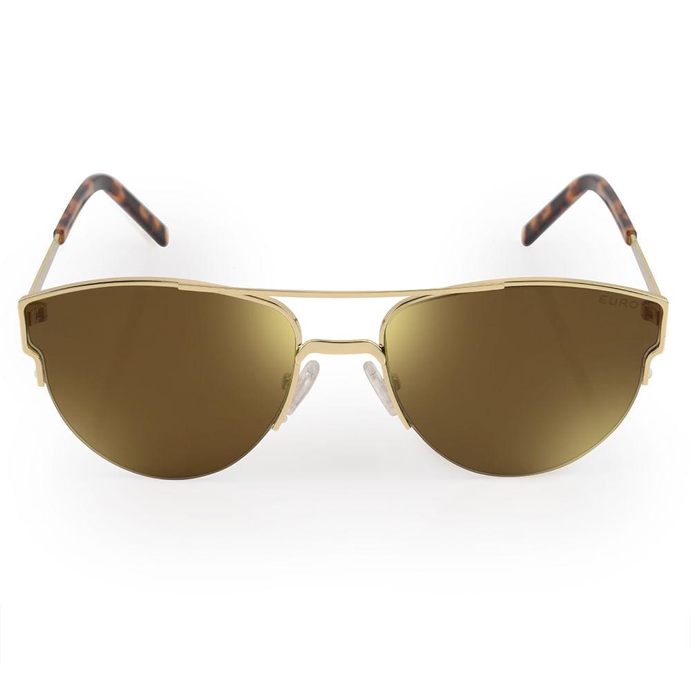 b631a065e O Óculos de Sol Feminino Euro é da coleção Aviador Power. Modelo que nunca  sai de moda, é o queridinho das fashionistas e um acessório must-have. O  modelo ...