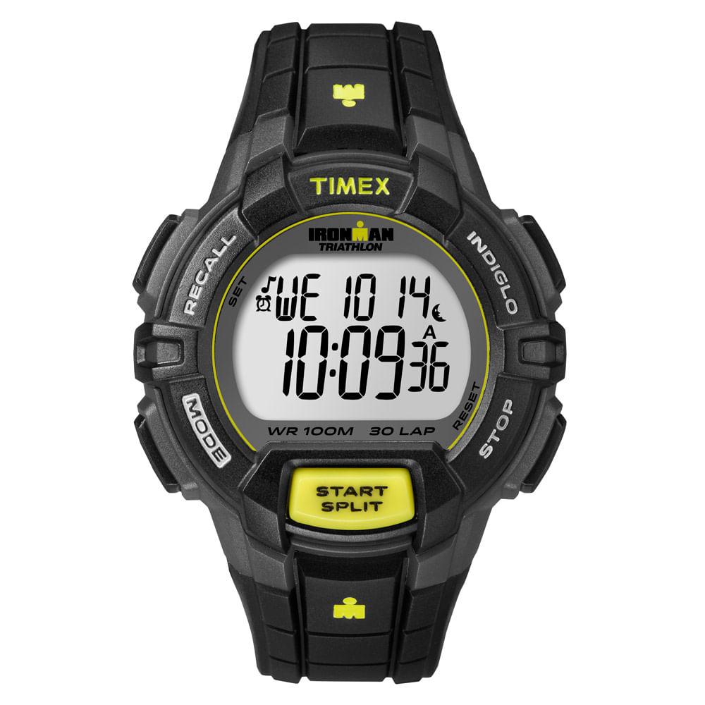 deaafbb7b1485 Relógio Timex Masculino Ironman Preto - T5K790WW TN - timecenter