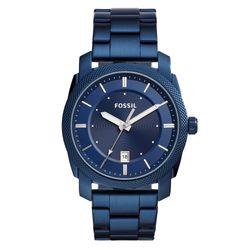 b39e89933ab25 Relógio Fossil Masculino Machine Azul - FS5231 1AN