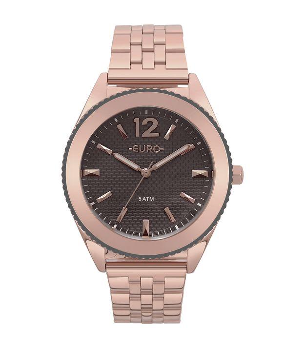 7a4af08d01c Relógio Euro Feminino Metal Trendy Rosé - EU2036YML 4C