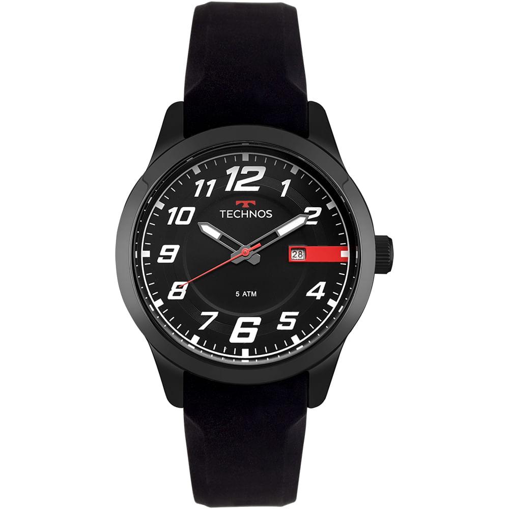 2115MOV8P. 2115MOV8P. Technos. Relógio Technos Masculino Racer Preto ... a5fdb14e18