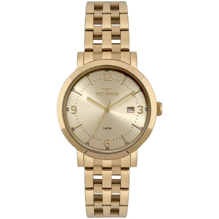 abb865d410d8f Relógio Technos Feminino Dress Dourado - technos
