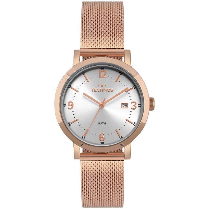 Relógio Technos Feminino Dress Rosé - technos 947d43b135