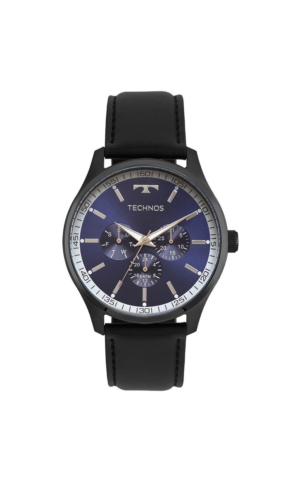 1d0e11f1a9d Relógio Technos Masculino Steel Preto - 6P29AJP 2A. undefined