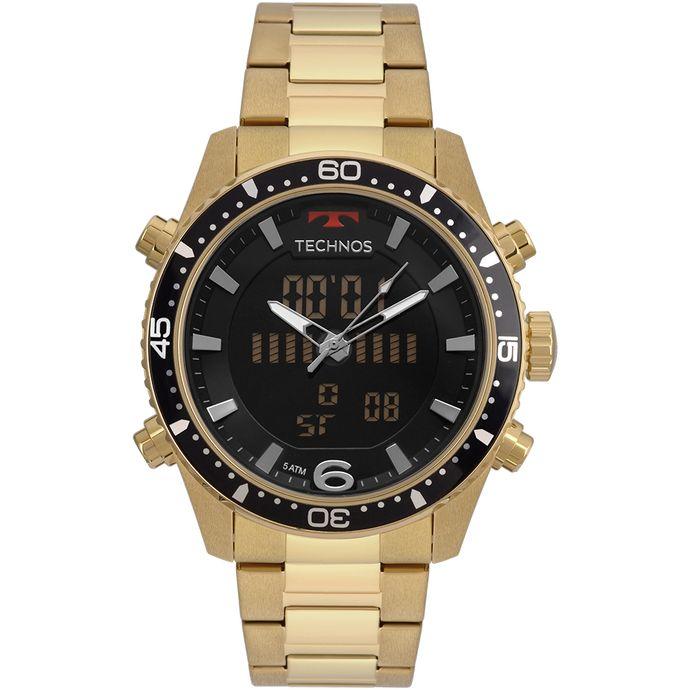 bd7b50280d3f1 Relógio Technos Masculino Ts Digiana Dourado - BJK203AAD 4P