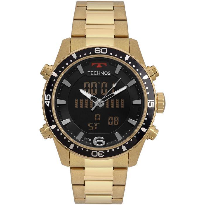 d999258849e Relógio Technos Masculino Ts Digiana Dourado - technos