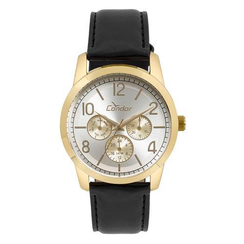 80c219bccf2 Relógio Condor Feminino Bracelete Dourado - condor
