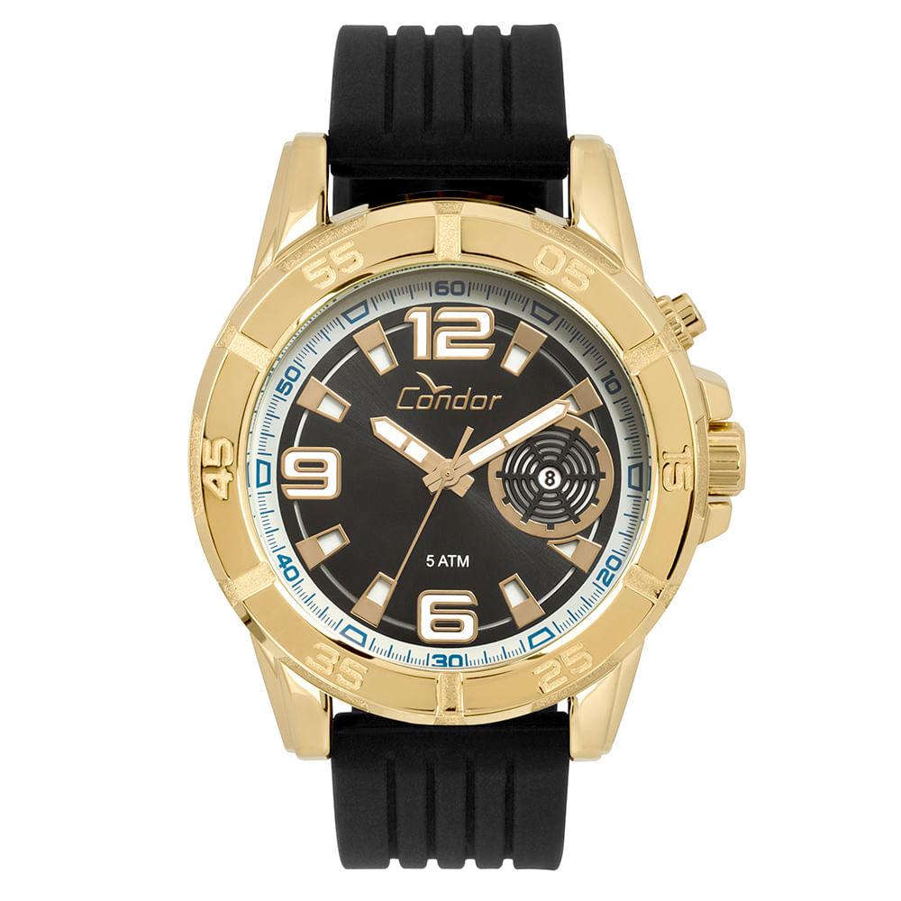 ff25bb69746 CO2317AC2P. Condor. Relógio Condor Masculino Civic Dourado ...