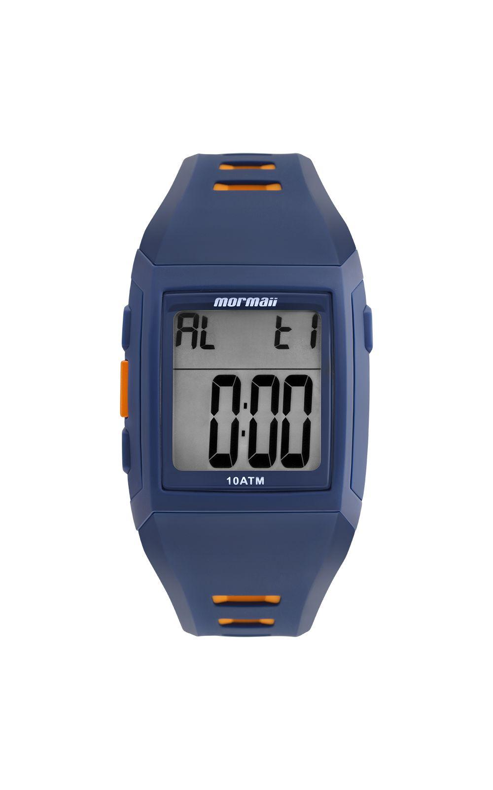 1d31807f46e Relógio Mormaii Masculino Action Azul - MO967AB 8A