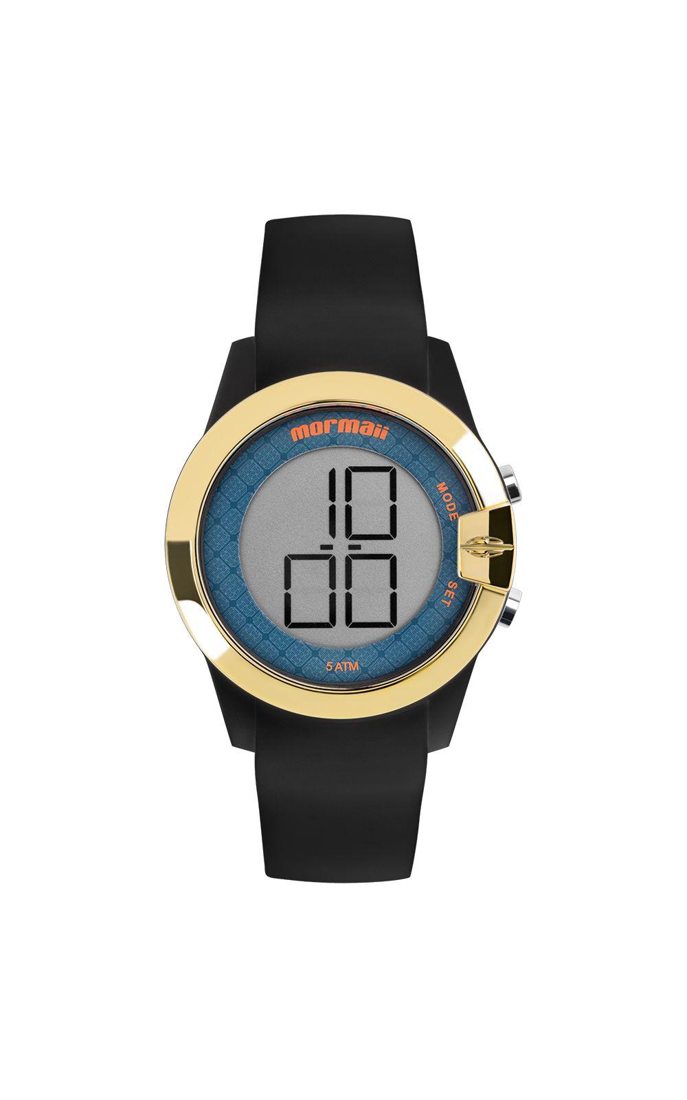 d91b767854f Relógio Mormaii Feminino Luau Dourado - MO13001 8A. undefined
